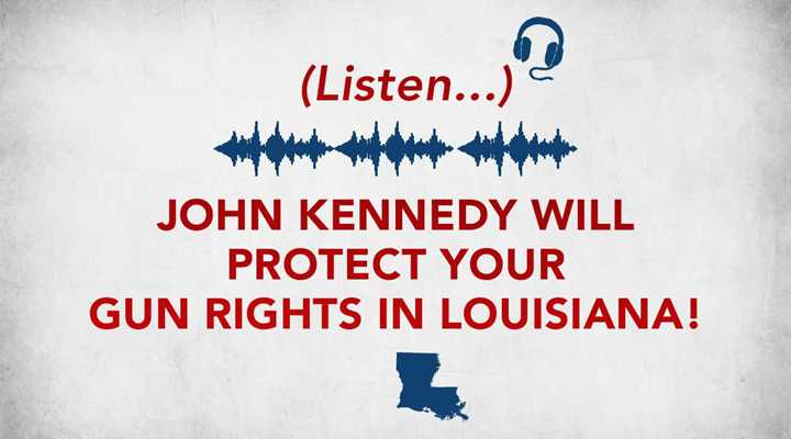 Vote John Kennedy for U.S. Senate