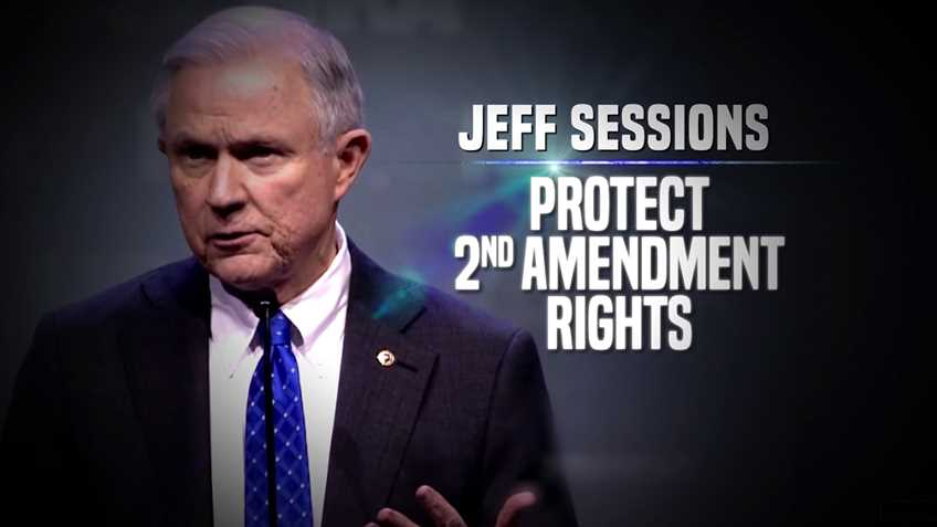 NRA Launches Ad Buy in Support of Sessions for Attorney General