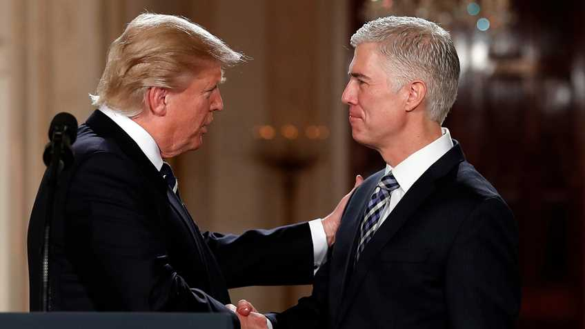 Trump Supreme Court Nominee Neil M. Gorsuch Would Respect the Second Amendment Naples Gun School CCW CWP FFL gun sales