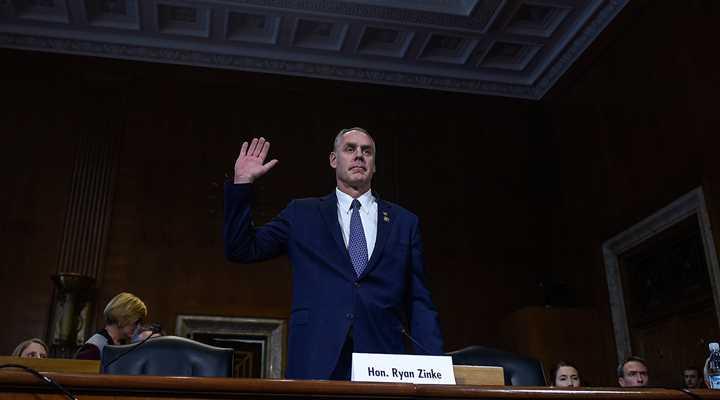 Urge Your Senators to Confirm Ryan Zinke!