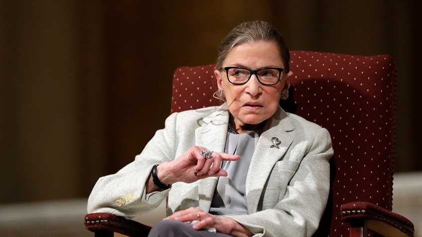 Justice Ruth Bader Ginsburg Praises Legacy Media in Interview with British Press