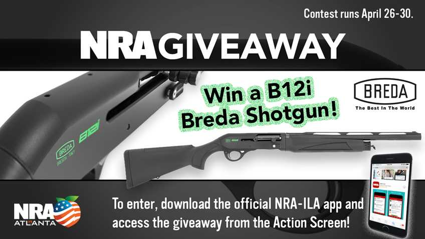 Download the NRA-ILA App to Win!