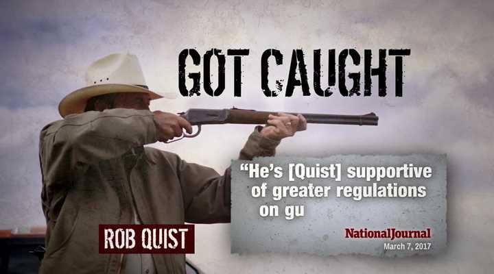 Rob Quist Supports Gun Control