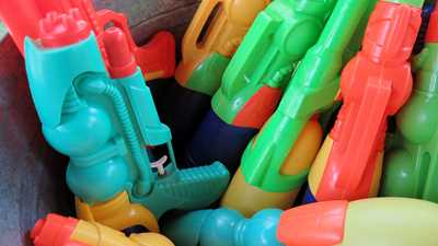 From My Cold Wet Hands: Humorless Scold Targets Squirt Guns