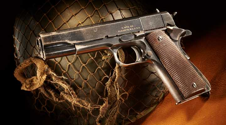 Military Funding Bill Establishes Mandatory Program to Sell Historic Pistols to the Public