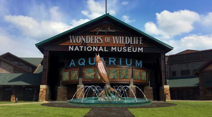 "Vote today for the Wonders of Wildlife Museum & Aquarium as America's ""Best New Attraction."""