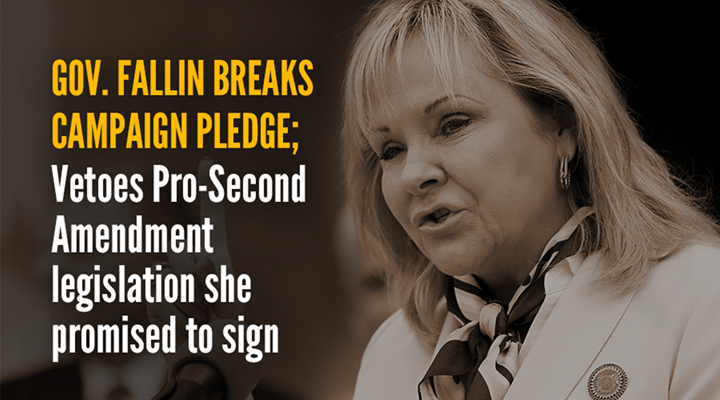 Governor Fallin Vetoes Important Self-Defense Bill
