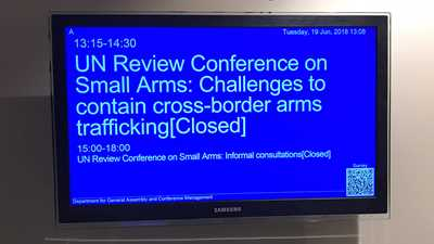 United States Holds the Line During Discussions on the U.N.'s Gun Control Programme of Action