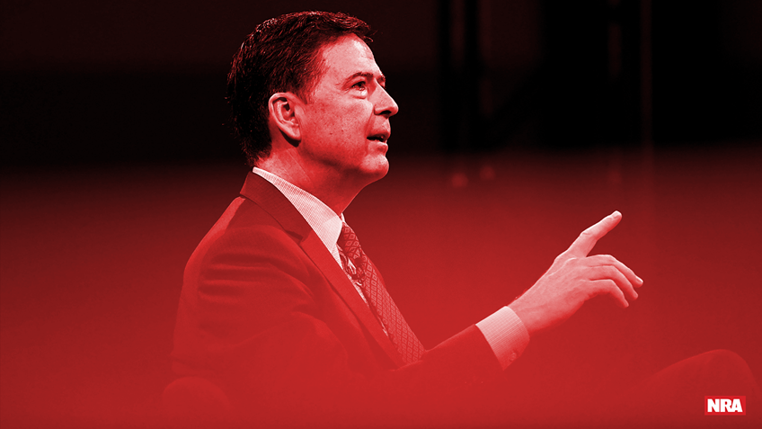 Fired FBI Director James Comey Pushes Gun Control, Bashes NRA