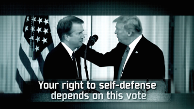 NRA-ILA Launches Major Advertising Campaign Urging Confirmation of Judge Brett Kavanaugh