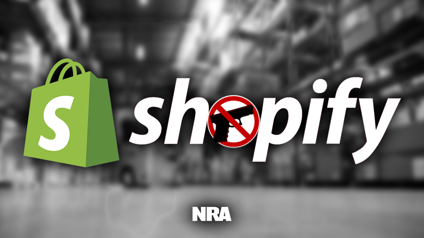 Outrage of the Week: Shopify Targets America's Guns