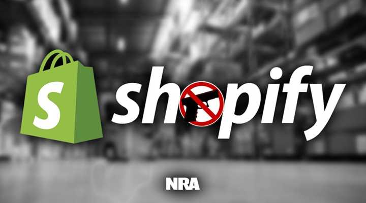 Shopify Targets Law-Abiding Firearm Businesses