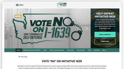 NRA Launches Initiative1639.org Website