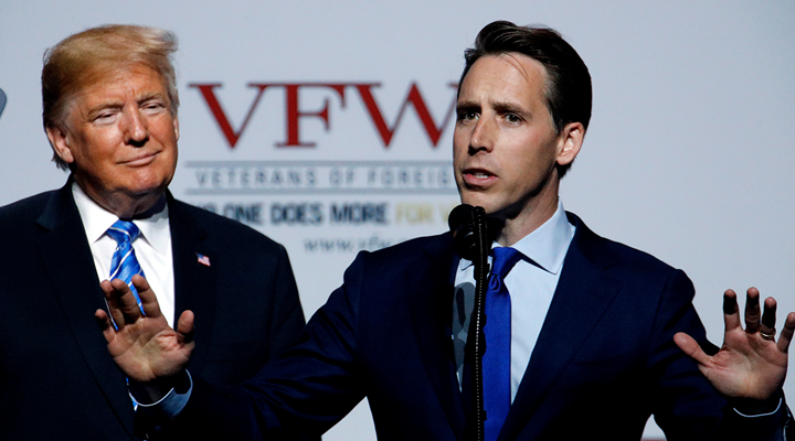 NRA Endorses Hawley for U.S. Senate in Missouri