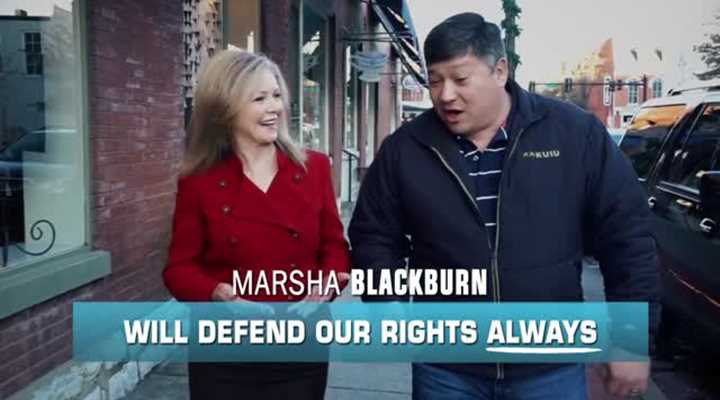 Marsha Blackburn Will Defend Our Rights. Always.