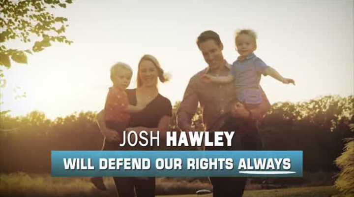 Josh Hawley Will Defend Our Rights. Always.