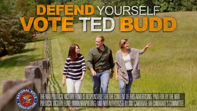 NRA Launches Ad Campaign for Ted Budd in North Carolina