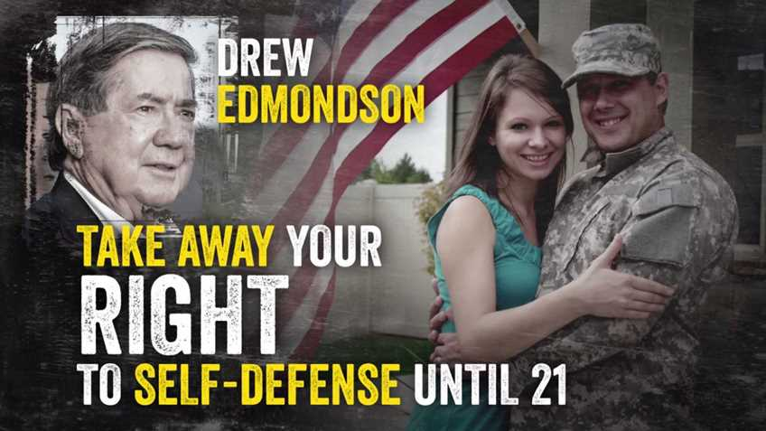 Resultado de imagem para Defend the freedom of all Oklahomans. Defeat Drew Edmondson.