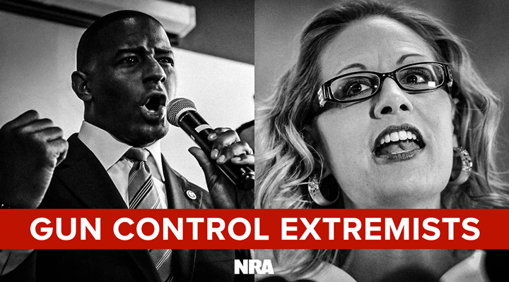 Videos Reveal Arizona's Sinema and Florida's Gillum Downplay Anti-gun Positions
