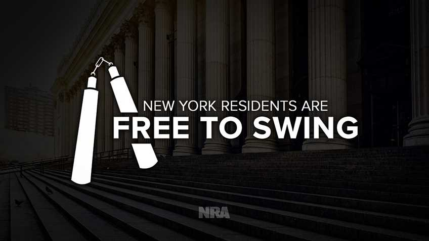NRA-ILA | Let Freedom Swing! Judge Rules Nunchucks are