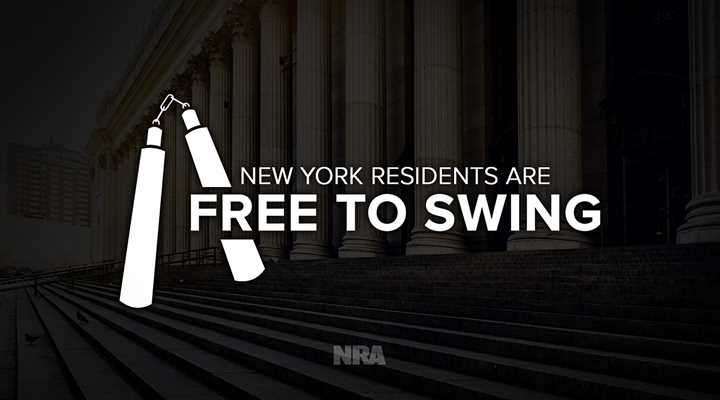 Let Freedom Swing! Judge Rules Nunchucks are Second Amendment Arms, Chops New York Ban