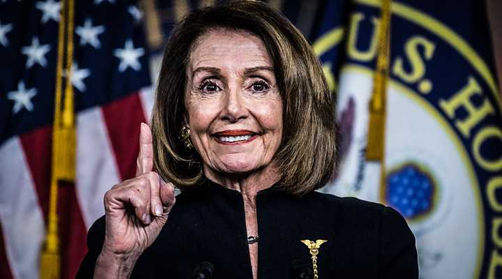 "Pelosi Claims Future President Could Use ""National Emergency"" to Target Guns"