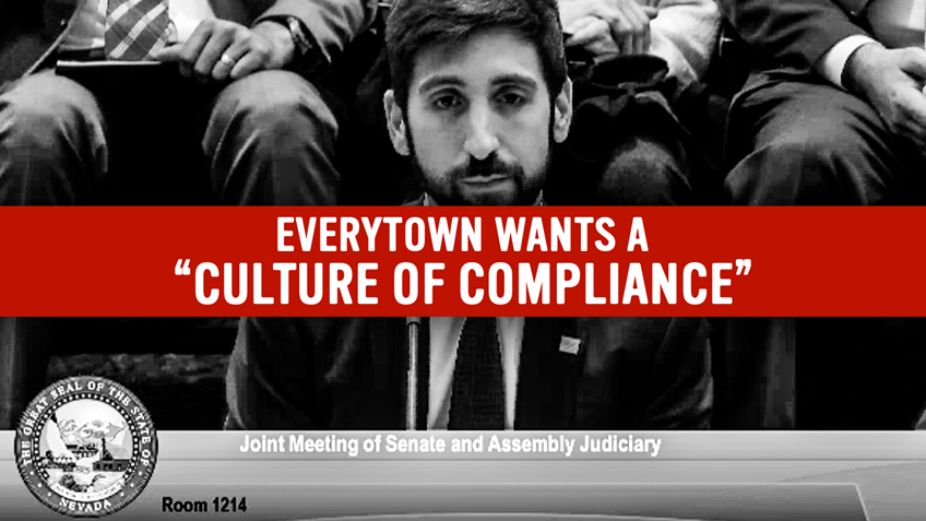 "Bloomberg's Everytown: Criminalizing Private Transfers is About Creating ""Culture of Compliance"""