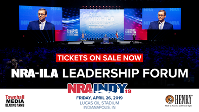 Get Your Tickets Today to the 2019 NRA-ILA Leadership Forum!