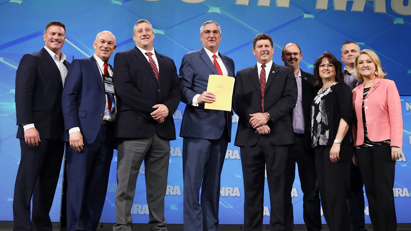 NRA Applauds Indiana Gov. Eric Holcomb for Signing Comprehensive Gun Rights Bill into Law