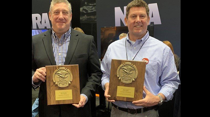 NRA Honors Indiana Representatives Lucas and Smaltz with Defender of Freedom Award