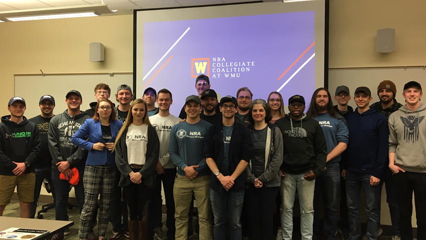 Grassroots Spotlight:  NRA Collegiate Coalition at Western Michigan University