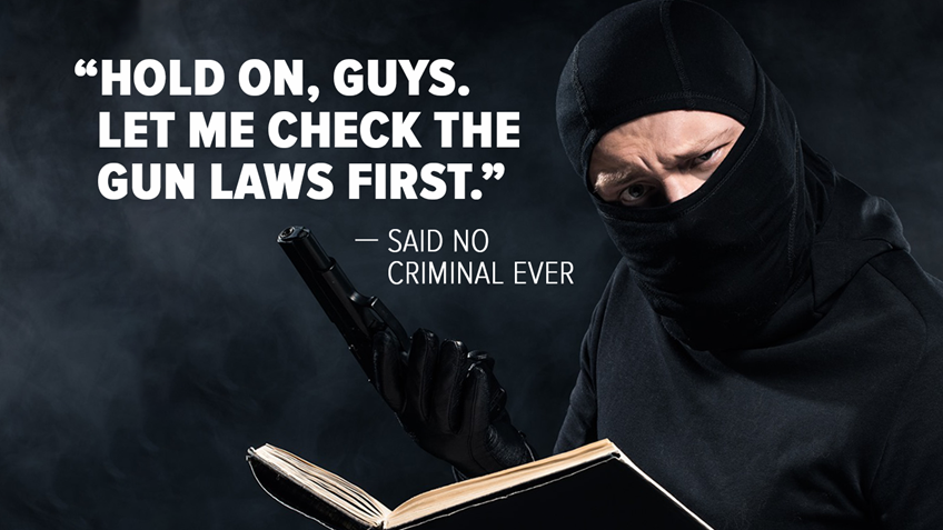 Study Reinforces What We Already Know: Criminals Don't Follow the Law