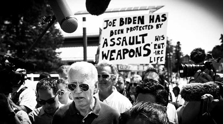 "Candidate Biden Suggests Police be Trained to Shoot ""an Unarmed Person"" in the Leg"