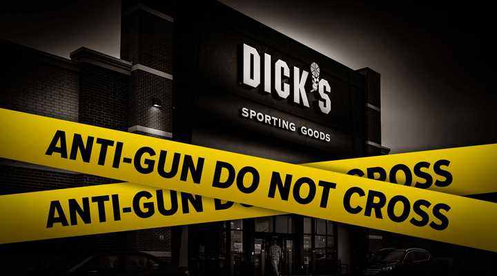 Dick's Spends Big on Gun-Chopping, Virtue-Signaling Bonanza (But It Will Still Sell You a Firearm)
