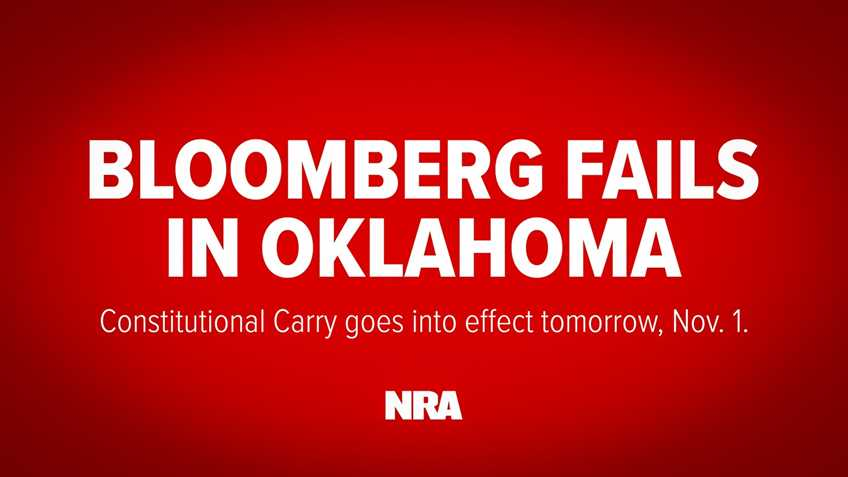 Constitutional Carry OK in Oklahoma