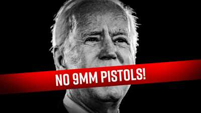 Joe Biden Wants to Ban 9mm Pistols