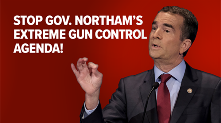 Virginia Gov. Northam Seeks Gun Registration as Down Payment on Gun Confiscation