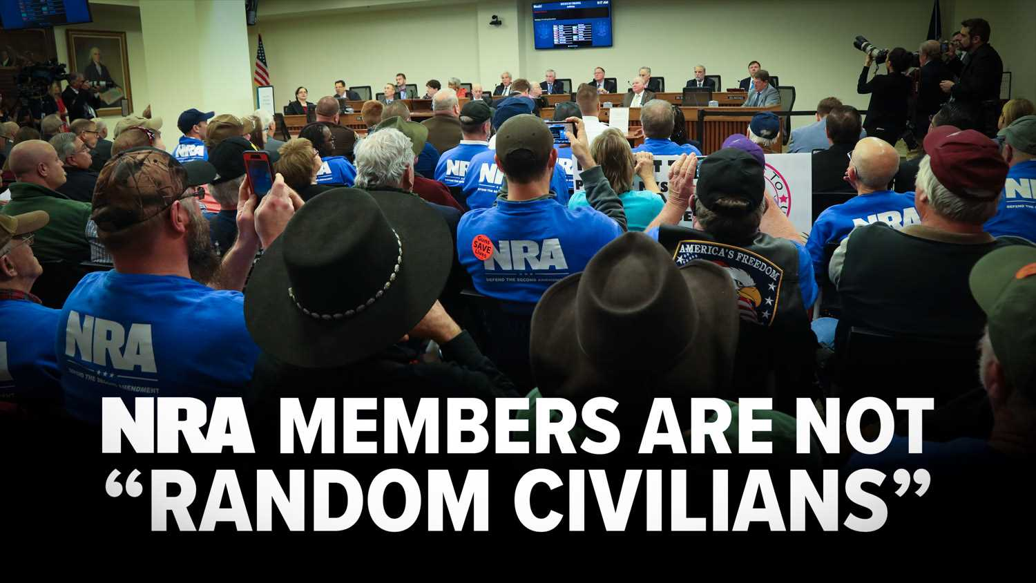 """Sorry Shannon, But Those """"Random Civilians"""" Are What Are Known As NRA Members"""