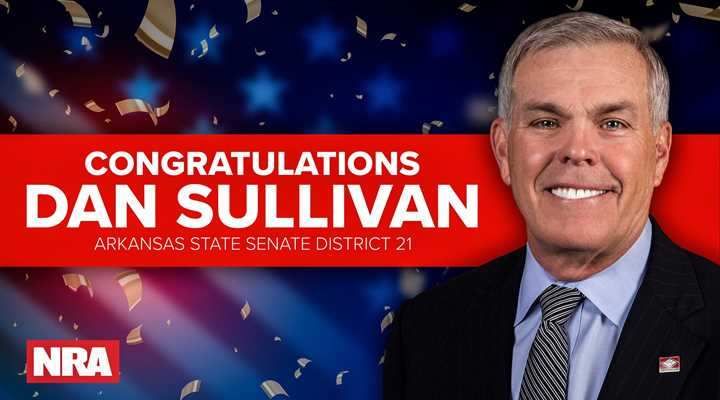 NRA-Endorsed Dan Sullivan Wins Arkansas State Senate Primary