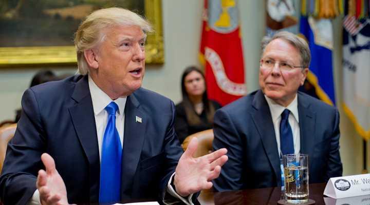 President Trump Declares Gun Stores Critical