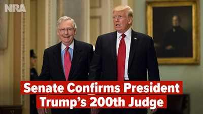 Trump Hits Judicial Milestone