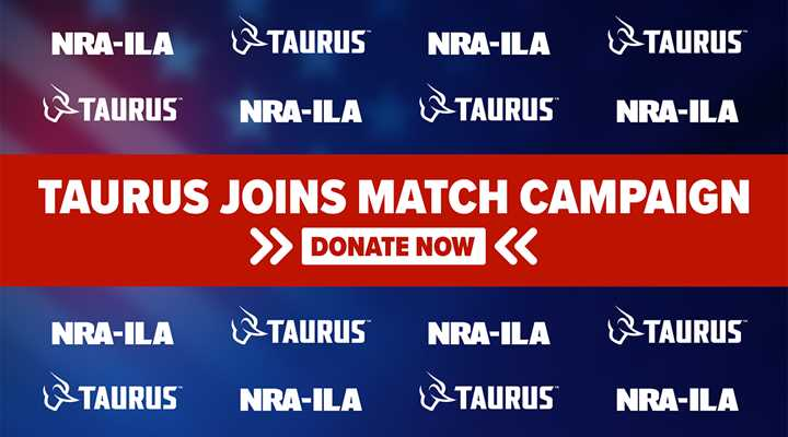 Taurus Joins Partners for Patriotism Match Campaign