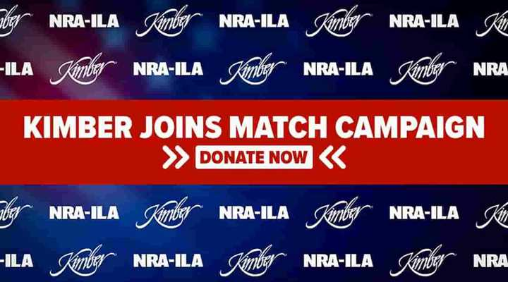 Kimber Joins Partners for Patriotism Match Campaign with up to $200,000 Pledge