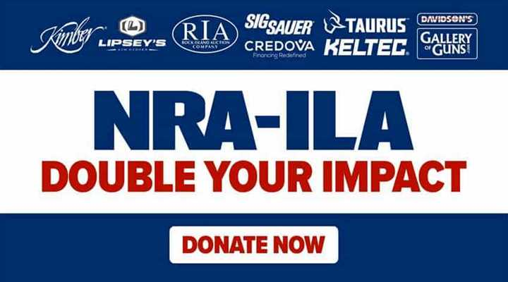 NRA-ILA Announces Partnership with 8 Companies for $1 Million Match Campaign