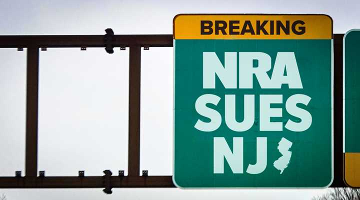 NRA Sues New Jersey Over Concealed Carry Law