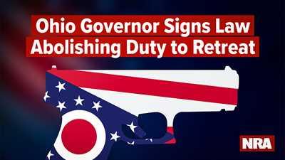 DeWine Signs SB 175 Making 'No Duty to Retreat' Ohio Law