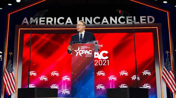 NRA CEO Wayne LaPierre Speaks At CPAC 2021
