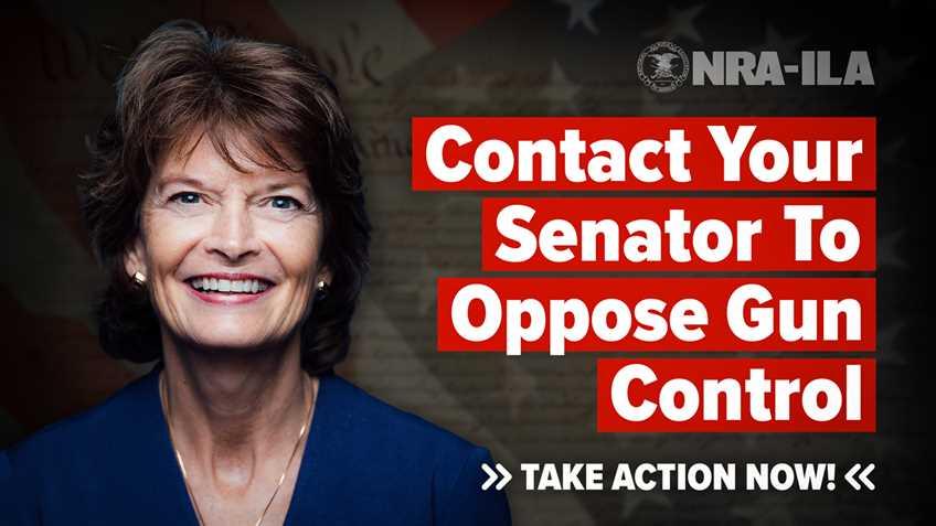 Take Action – Contact Senator Murkowski Today!